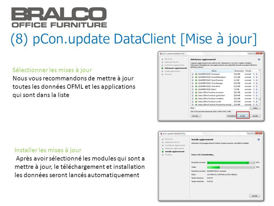 (8) pCon.update DataClient [Mise à jour]